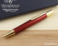 Waterford Kilbarry Guilloche Amber Ballpoint Pen