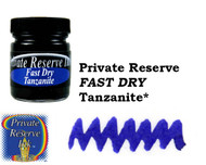 Private Reserve Bottled Ink - Tanzanite FAST DRY