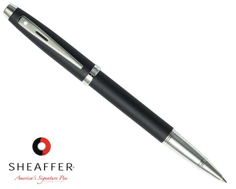 Sheaffer 100 Matte Black Rollerball Pen