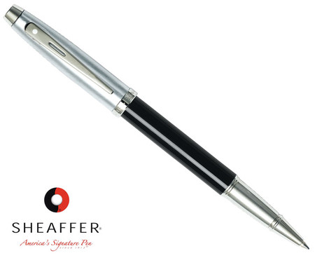 Sheaffer 100 Gloss Black Rollerball Pen