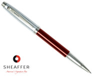 Sheaffer 100 Red Translucent Rollerball Pen