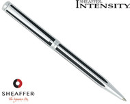 Sheaffer Intensity Jet Black Striped Ballpoint Pen