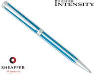 Sheaffer Intensity Cornflower Striped Ballpoint Pen