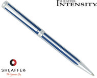 Sheaffer Intensity Ultramarine Striped Ballpoint Pen