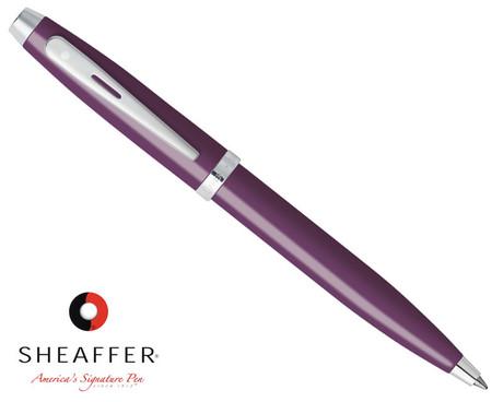 Sheaffer 100 Glossy Plum Ballpoint Pen