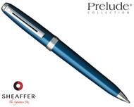 Sheaffer Prelude Blue Shimmer N/T Ballpoint Pen