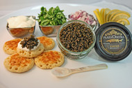 Plaza Gold Osetra 2 oz Caviar Gift Set