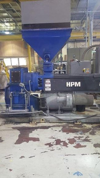 "4.5"" HPM Single Screw Strand Pelletizing System"