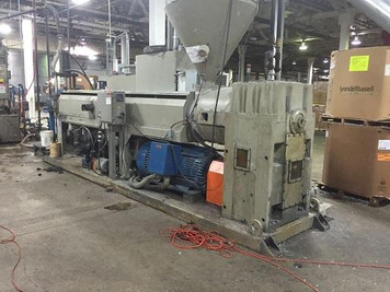 "6"" Sterling Extruder with Gala Pelletizer"