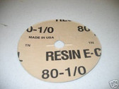 "[1 CASE] 50 - 7""  SANDPAPER DISCS  FOR EDGER (80 GRIT)"