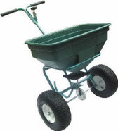 125LB BROADCAST SPREADER ROCK SALT SEED FERTILIZER