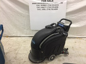 "Powr-Flite PAS17BA-BC Battery Powered Automatic Scrubber 17"" w/ Pad Driver-USED"