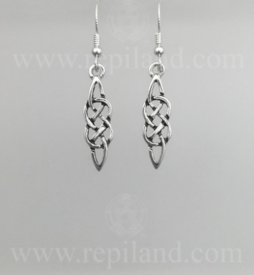 Classic knotwork earrings