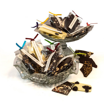 Clear Bags with Handtag and Ribbon (10)