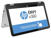 "HP Envy X360 15T-U000 3 in 1 Convertible Laptop, 15.6"" HD Touchscreen Display, i7-4510U, 2.0GHz, 8GB RAM, 500GB Hard Drive"