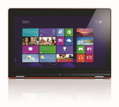 "Lenovo Yoga 13 Convertible Ultrabook, 13.3"" Touchscreen, Intel Core i7, 8GB RAM, 128GB Solid State Drive"