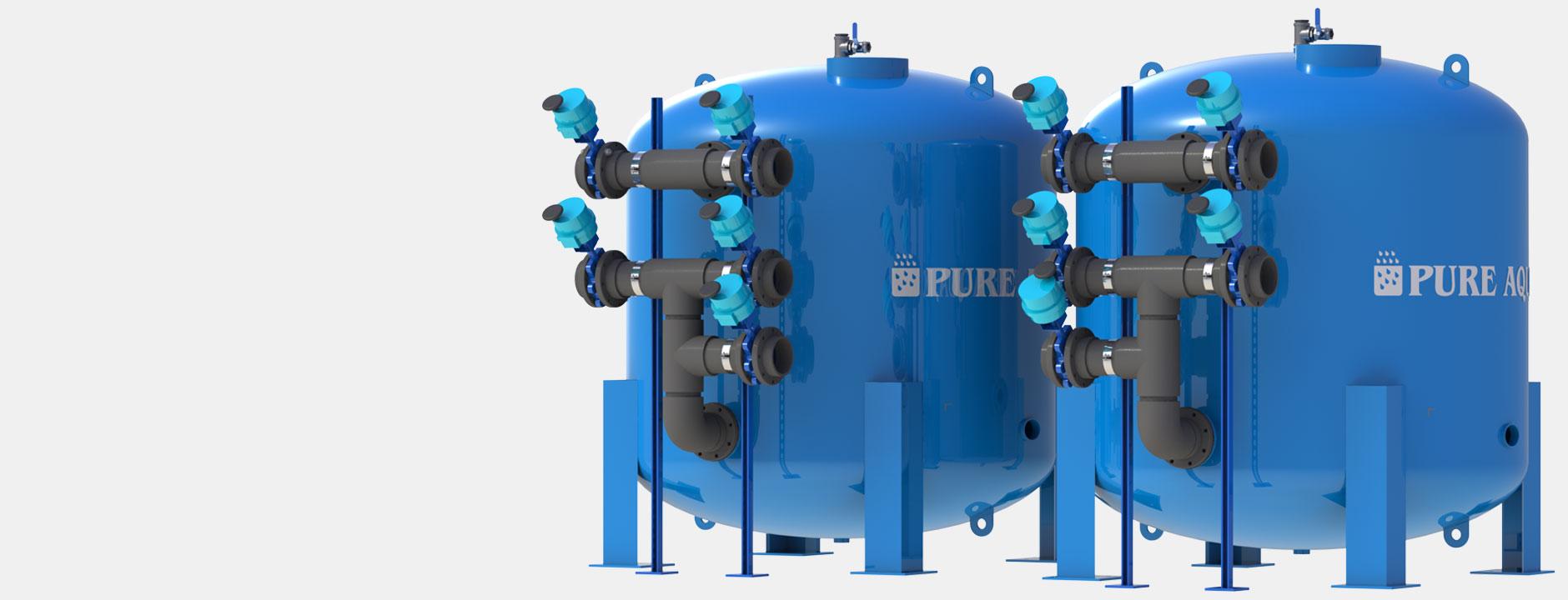 sistemas de filtros medios para agua