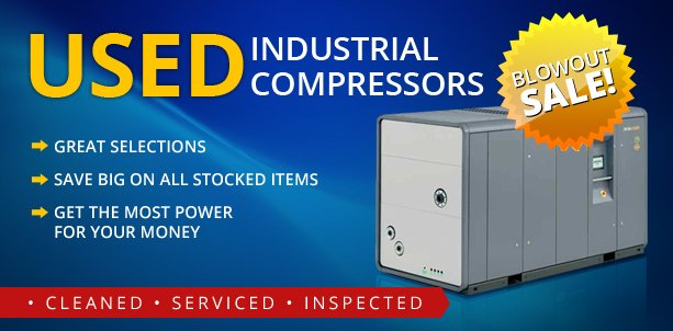 Used Industrial Air Compressors