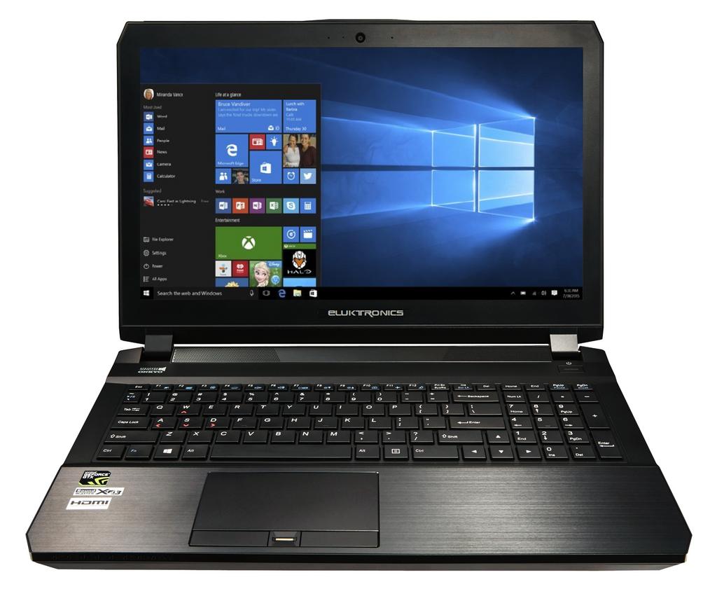 Eluktronics PRO15RE 15.6-Inch NVIDIA® GeForce® GTX Gaming Laptop PC