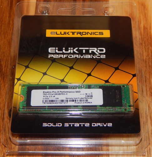 Eluktro Pro-X Performance 128GB AHCI M.2 80mm PCIe 3.0 x4 SSD