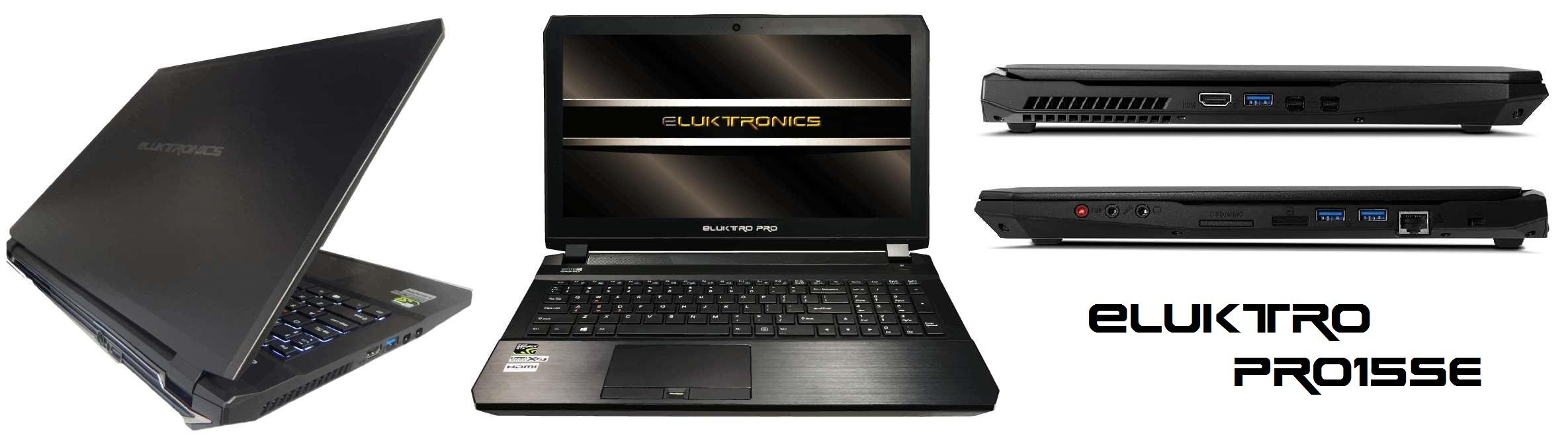 """Eluktro Pro Series 15"""" PRO15SE Gaming Laptop"""