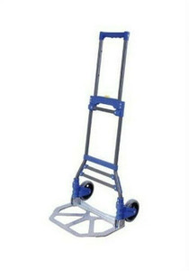 Portable Folding Hand Truck Dolly Utility Cart 110 LB Load Capacity CT-HTF110