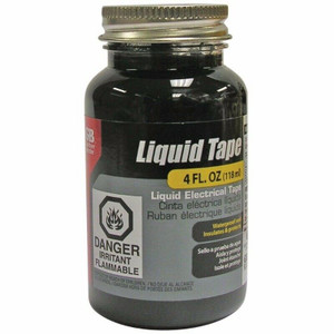 Gardner Bender  LTB-400 Black Electrical Liquid Tape 4 oz