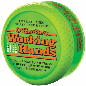 O'Keeffe's K0350007 Working Hands 3.4 Ounce Jar Dry Skin Relief Moisturizing Creme