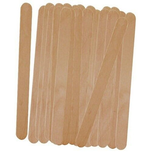 Progressive PLPS-1 50 Count Wood Freezer Popsicle Sticks