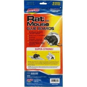 PIC GRT-2F Glue Boards  Rat / Mouse Traps 2 pack