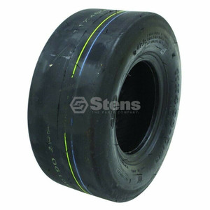 Stens 160-158 Lawn Mower Tire CST Brand Smooth Tread 11x400x5 4 Ply Tubeless