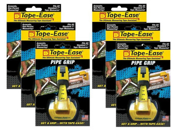 Tape Ease TE-11C2 Measuring Tape Assistant for Measuring Pipe Lot of 6