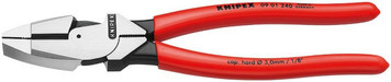 """Knipex w/09 01 240 High Leverage Linemans Pliers 9"""""""