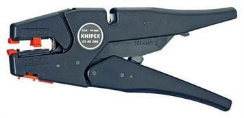"""Knipex Self Adjusting Insulation Wire Stripper 8"""" 32 to 7 AWG"""