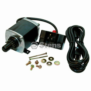 Stens 435‑611 Electric Fire Starter Kit replaces OEM Ariens 72403500 & Tecumseh 33328D. Kit Includes fire starter, starter button, power cord & hardware.