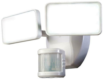 HeathCo. HZ-5867-WH White 180 Degree LED Motion Outdoor Light