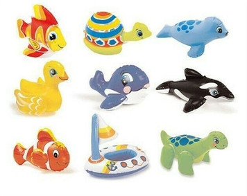 Intex 58590EP Puff N Play Single Inflatable Bath Toy