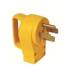 Camco RV 50 Amp Replacement Male Electrical Power Cord Plug w/ Handle