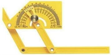 General Tools 29 Outside, Inside, and Sloped Angle Protractor W/ Articulating Arms