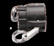 "Quick Clamp Adapter - 1½"" Female QC x 1½"" Female NPT - Polypropylene"