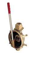Compact Manual Lever-Action Vertical Mount Pump - Bronze
