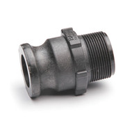 """Quick Clamp Adapter - 1½"""" Male QC x 1½"""" MNPT - Polypropylene (157MM-150NY)"""