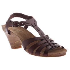 Axxiom Sit Back, High Heel T-Strap Sandal