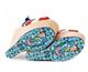 Irregular Choice Chica Chola, Seventies Wooden platform sandal, Rainbow colors