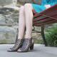 "Lifestyle View: Women Shoes, Women's Sandals, Madeline Winning, Women's Mid Heel Sandal, 2.5"" heel, Cut Out Upper, color Dark Dune"