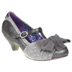 Irregular Choice Tucan, Mix Fabric Kitten Heel Mary Jane