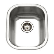 Houzer Club Houzer Club medium bar/prep sink, 7 IN deep 18 ga Stainless Steel CS-1407-1