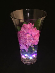Glass Vase 6-1/2x4x11 (6 Per Case)