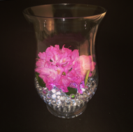 "Glass Vase 7""x 5""x 10"" (6 Per Case)"