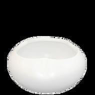 "Ceramic Vase 8"" x 4"" White"